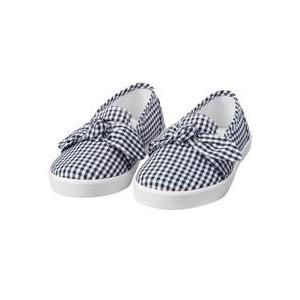 Gingham Bow Slip-On Sneaker
