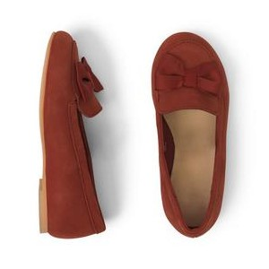 Leather Bow Flat
