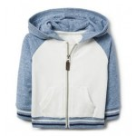 Colorblocked Hooded Jacket