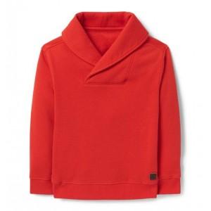 Shawl Collar Sweatshirt