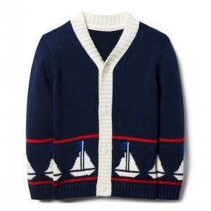 Sailboat Cardigan