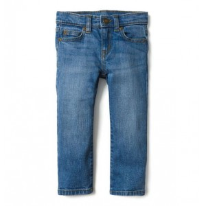 Straight Jean in Clear Skies Wash