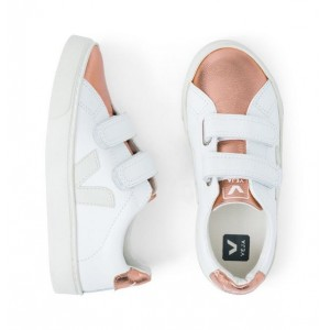 Kid Veja Esplar Metallic Sneaker