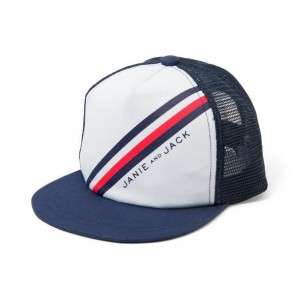 Diagonal Striped Cap