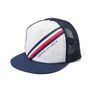 Diagonal Striped Cap