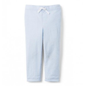 Seersucker Pull-On Pant