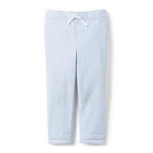 Seersucker Pull-On Pant