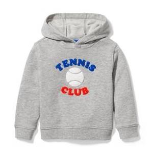 Tennis Club Hooded Sweatshirt