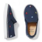 Nautical Flag Slip-On Sneaker