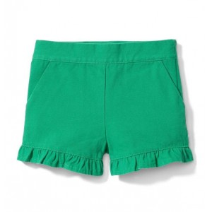Ruffle Trim Short