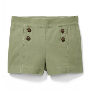 Rose Button Short