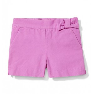 Bow Canvas Short