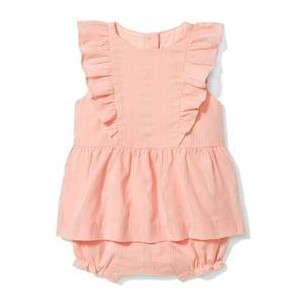 Shimmer Stripe Dress 1-Piece