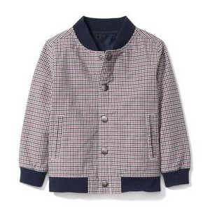 Mini Check Bomber Jacket