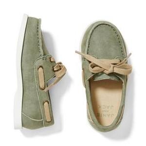 Suede Boat Shoe