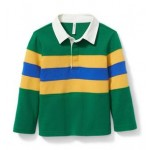 Colorblocked Rugby Tee