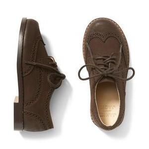 Leather Wingtip Shoe