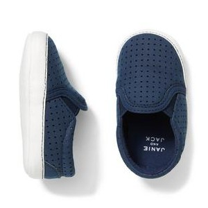 Perforated Slip-On Crib Shoe