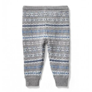 Fair Isle Sweater Pant