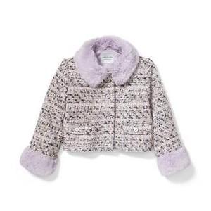 Shimmer Boucle Jacket