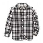Plaid Brushed Twill Shirt