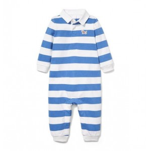 Striped Rugby 1-Piece