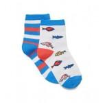 Fish Sock 2-Pack