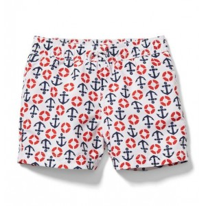 Anchor Lifesaver Swim Trunk