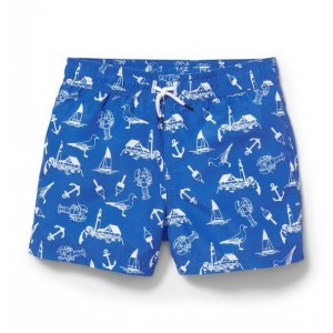 Nautical Icon Swim Trunk