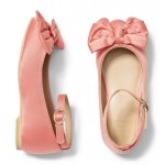 Ankle Strap Bow Flat