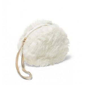 Rachel Zoe Faux Fur Wristlet
