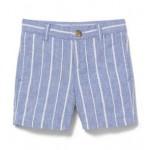 Striped Linen Short