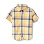 Plaid Short Sleeve Shirt