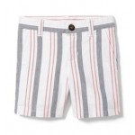 Striped Oxford Short