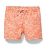 Hibiscus Print Swim Trunk