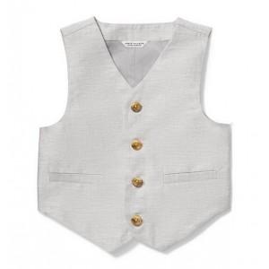 Linen Suit Vest