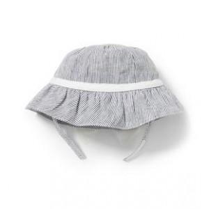Linen Stripe Bucket Hat