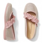 Childrenchic Ruched Grosgrain Mary Jane Flat