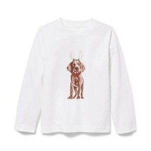 Reindeer Pup Tee