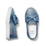 Juno Valentine Glitter Slip-On Sneaker