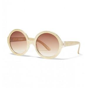Juno Valentine Glitter Round Sunglasses