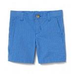 Striped Seersucker Short
