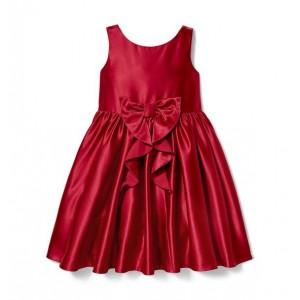 Satin Bow Dress