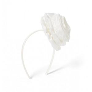 Organza Rosette Headband
