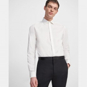 Stretch Cotton Tuxedo Shirt