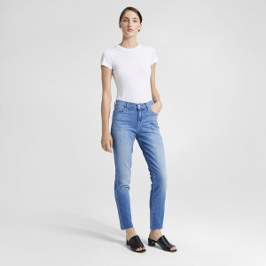 J Brand Ruby High-Rise Crop Jean