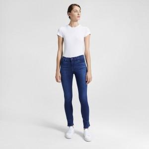 J Brand Selena Mid-Rise Crop Jean