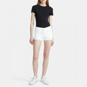 J Brand 1044 Mid-Rise Shorts