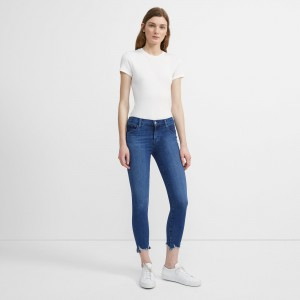 J Brand 835 Mid-Rise Crop Skinny Jean