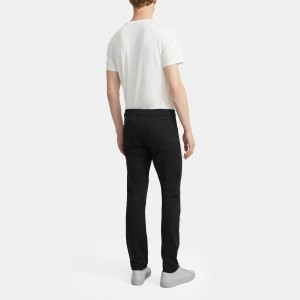 J Brand Kane Straight Fit Jean in Seriously Black